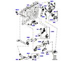 303-03/05H LEITUNGEN U. SCHLÄUCHE - KÜHLSYSTEM, 3.0 DIESEL 24V DOHC TC, MOTOR (3.0 V6 D GEN2 TWIN TURBO, 8-GANG-AUTOMATIK ZF 8HP70 HEV 4WD, OHNE KURBELGEHÄUSE-DRUCKSENSOR, 3.0 V6 D GEN2 MONO TURBO) (VON (V)GA000001 )