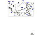 309-03/06C AUSPUFFANLAGE VORN, 3.0 DIESEL 24V DOHC TC (3.0L 24 V DOHC V6 TC DIESEL, STUFE V PLUS DPF, PROCONVE L6 EMISSIONEN, 3,0L V6 DIESEL-ELEKTRIK-HYBRIDMOTOR, 3.0L 24V V6 TURBO DIESEL STD FLOW)
