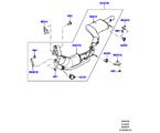 309-03/06G AUSPUFFANLAGE VORN, 3.0 DIESEL 24V DOHC TC (3.0 V6 D GEN2 MONO TURBO, ANFORDERUNGEN JAPAN, EU6 + DPF EMISSIONEN, LEV 160) (VON (V)FA000001 )
