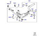 309-03/06H AUSPUFFANLAGE VORN, 3.0 DIESEL 24V DOHC TC (3.0 V6 D GEN2 TWIN TURBO, STUFE V PLUS DPF, PROCONVE L6 EMISSIONEN) (VON (V)FA000001 )
