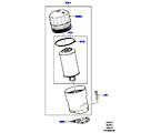 303-02/10A ÖLKÜHLER/ÖLFILTER, 5.0L OHC SGDI NA V8 PETROL, FILTER (5.0L OHC SGDI SGM V8 BENZIN - AJ133) (VON (V)AA000001 )