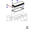303-02/10B ÖLKÜHLER/ÖLFILTER, 5.0L OHC SGDI NA V8 PETROL, ÖLKÜHLER (5.0L OHC SGDI SGM V8 BENZIN - AJ133) (VON (V)AA000001 )