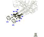 303-04/13 EINSPRITZPUMPE AN MOTOR ANGEBAUT, 5.0L OHC SGDI NA V8 PETROL (5.0L OHC SGDI SGM V8 BENZIN - AJ133) (VON (V)AA000001 )