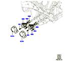 303-04/13 EINSPRITZPUMPE AN MOTOR ANGEBAUT, 5.0L OHC SGDI SC V8 PETROL (5.0L OHC SGDI KPM V8 BENZIN - AJ133) (VON (V)AA000001 )