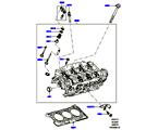 303-01/15A ZYLINDERKOPF, 3.0 DIESEL 24V DOHC TC (3.0L 24 V DOHC V6 TC DIESEL, 3.0L 24V V6 TURBO DIESEL STD FLOW, 3,0L V6 DIESEL-ELEKTRIK-HYBRIDMOTOR) (VON (V)AA000001 )