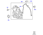 303-02/05 ÖLPUMPE, 3.0 DIESEL 24V DOHC TC (3.0L V6 DIESELMOTOR) (VON (V)AA000001 )
