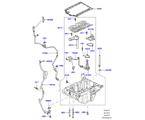 303-02/15A ÖLWANNE/ÖLMESSSTAB, 3.0 DIESEL 24V DOHC TC (3.0L V6 DIESELMOTOR) (VON (V)AA000001 )
