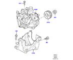 303-04/12 EINSPRITZPUMPE, DIESEL, 3.0 DIESEL 24V DOHC TC (3.0L V6 DIESELMOTOR) (VON (V)AA000001 )