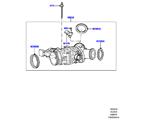 303-04/15A DROSSELKLAPPENGEHÄUSE, 3.0 DIESEL 24V DOHC TC (3.0L 24 V DOHC V6 TC DIESEL, 3,0L V6 DIESEL-ELEKTRIK-HYBRIDMOTOR, 3.0 V6 D LOW MT ROW, 3.0L 24V V6 TURBO DIESEL STD FLOW) (VON (V)AA000001 )