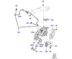 303-04/25B TURBOLADER, 3.0 DIESEL 24V DOHC TC, LINKE SEITE - PRIMÄR (3.0L 24 V DOHC V6 TC DIESEL, 3,0L V6 DIESEL-ELEKTRIK-HYBRIDMOTOR, 3.0 V6 D GEN2 TWIN TURBO, 3.0L 24V V6 TURBO DIESEL STD FLOW) (VON (V)AA000001 )