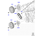 303-09/05A STIRNRADTRIEB, 3.0 DIESEL 24V DOHC TC, OBEN (3.0L V6 DIESELMOTOR) (VON (V)AA000001 )